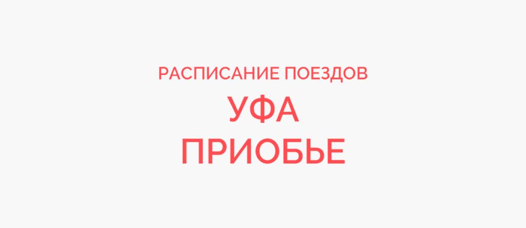 Поезд Уфа - Приобье